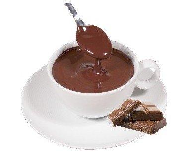Chocolate a la taza. Profundo sabor aterciopelado del mejor cacao