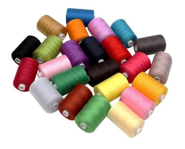 Hilos de costura. Variedad de colores