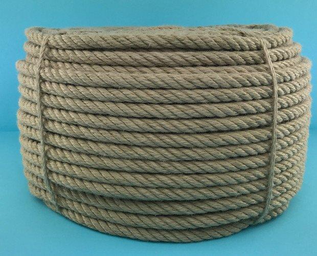 Cuerdas torcidas. Uso industrial