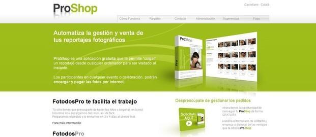 Web Cliente. Diseño Web, Posicionamiento, Fotografía, SEO, SEM