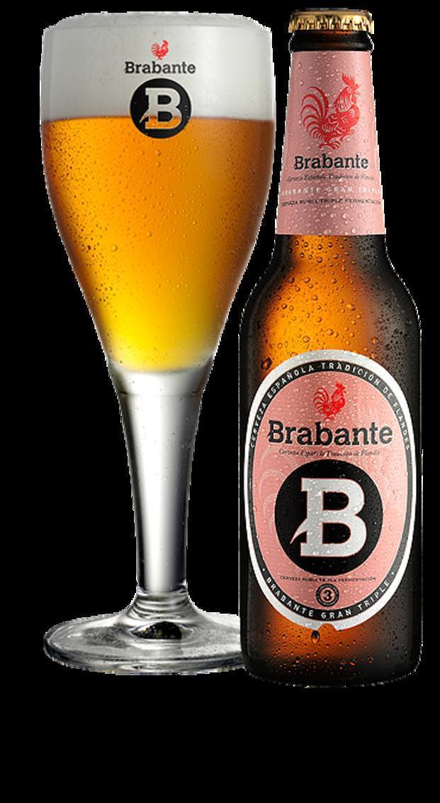 Cerveza Brabante. Cervezas de calidad y sabor excelentes