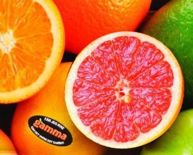 Mandarinas.fruta cítrica