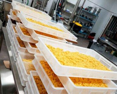 Obrador. Desde nuestro obrador producimos pasta sin colorantes ni conservantes