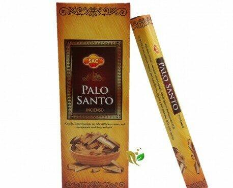 Palo Santo. Incienso aromático fabricado con madera 100% natural