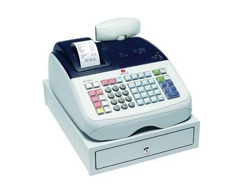 Registradora electrónica. Marca Olivetti