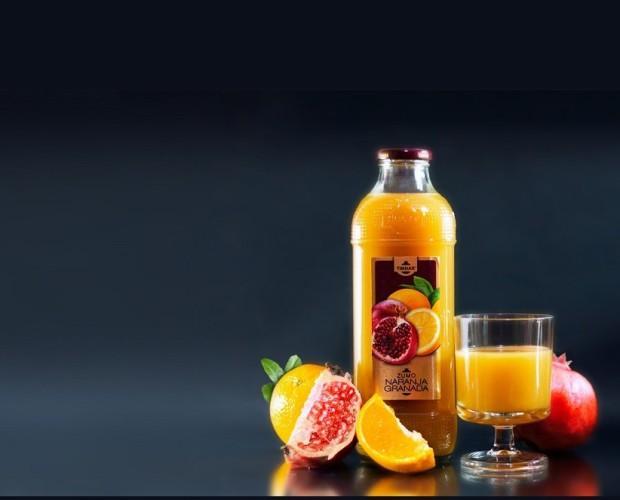 Granada/Naranja. Granada/Naranja 100% natural
