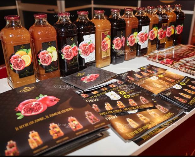 Zumos Naturales.Nuevos sabores presentados en BCN Alimentaria 2016