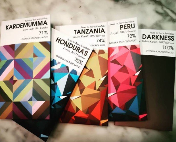 Chocolates. De diversos orígenes