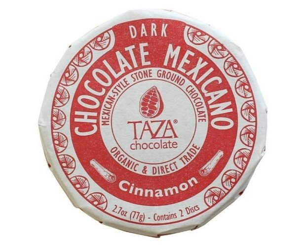 Chocolate mexicano. Chocolate con canela