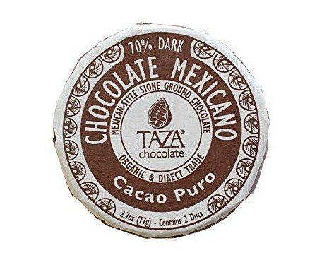 Chocolate de cacao puro. Chocolate mexicano orgánico