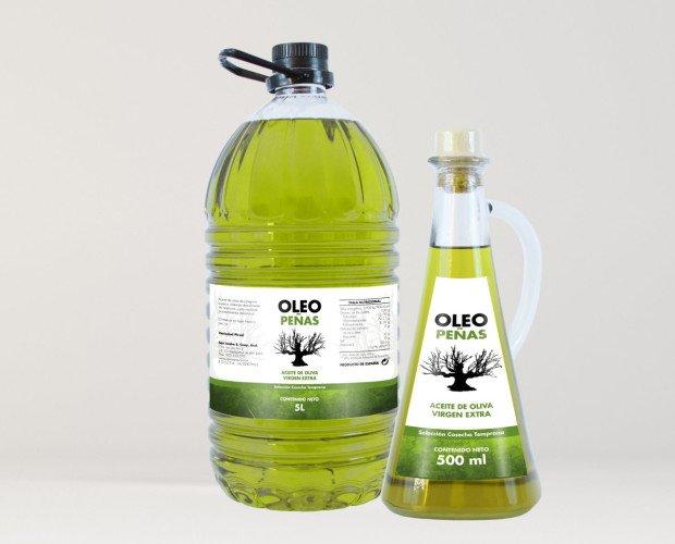 Gama Oleopeñas. Gama de aceite de oliva Oleopeñas. Delicioso al paladar