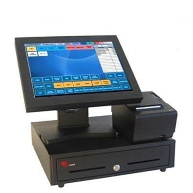 Terminal de Punto de Venta. Pack TPV con cajón y pantalla táctil