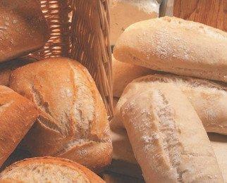 Panes semielaborados. Gran variedad de pan