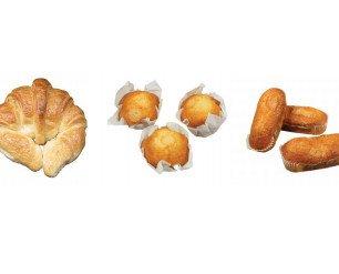 Bollería Envasada.Croissant, magdalenas y valencianas