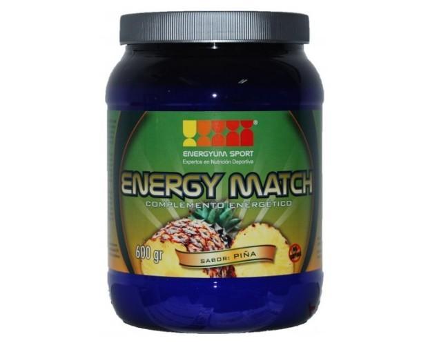 Energy Match. Utilizado por deportistas de élite con grandes beneficios en su trayectoria deportiva