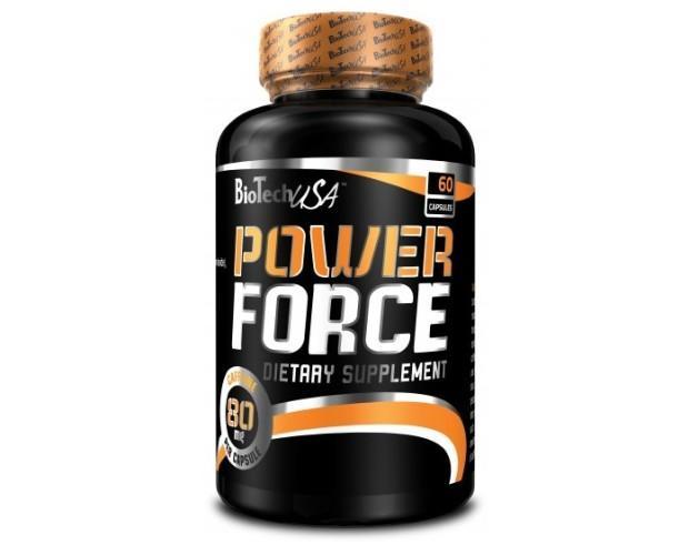 Power force. Power Force es una tableta energética que contiene Cafeína y Taurina