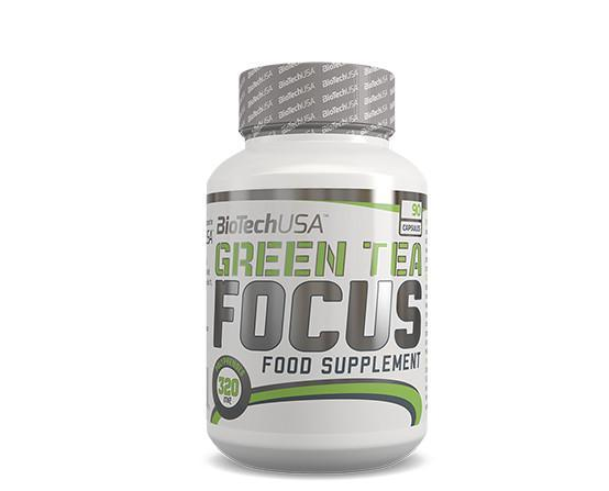 Green tea focus. Altos componentes antioxidantes
