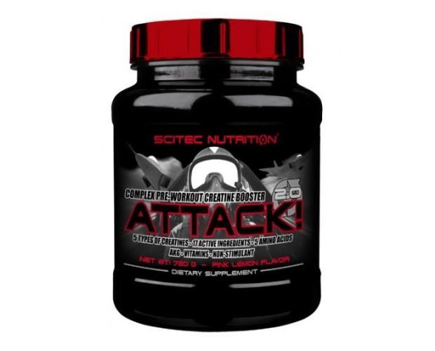 Attack 20. Complejo potenciador de la creatina pre-entrenamiento