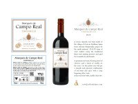 marques campo real tinto