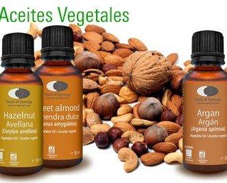 Aceites Vegetales. Aceites Vegetales 100% orgánicos