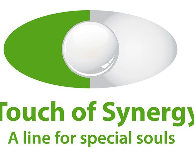 Logo. Touch Of Synergy, a line for special souls
