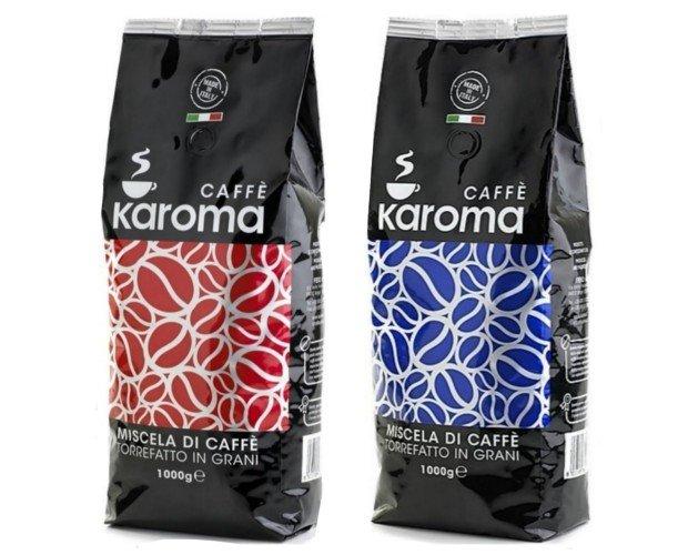 Café en grano. Café en granos Karoma Red y Blue