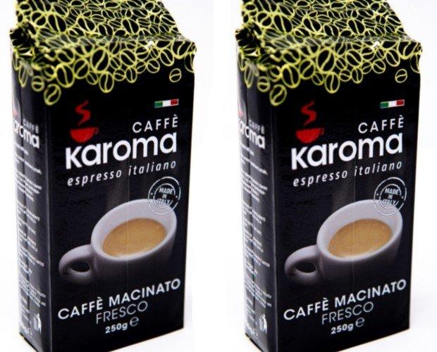 Café molido. Café molido Karoma