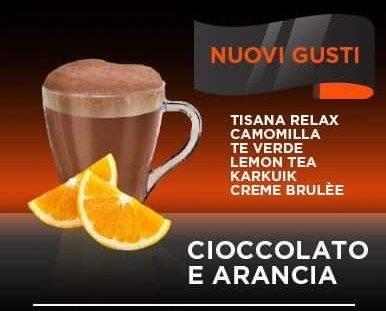 Chocolate con naranja. Delicioso chocolate con naranja