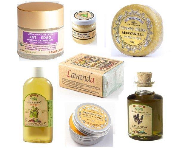 Productos para Proveedores. cosmética natural