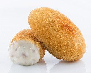 Croquetas de boletus. Textura suave con todo el sabor del hongo Boletus Edulis.