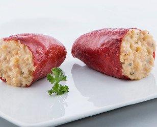 Pimientos de carne. Receta elaborada a partir de carne de vacuno de origen nacional