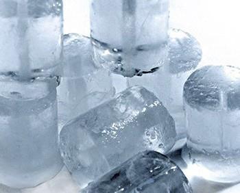 Cubito vogt. Es un hielo macizo con un gran volumen y poder de enfriamiento