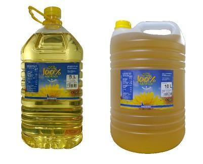 Aceite de Girasol.Aceite de Girasol refinado