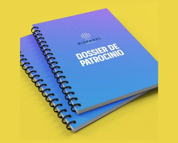Papelería para Empresas.Proyecto Bizpadel - Presentación de proyecto, papelería corporativa, redes sociales...
