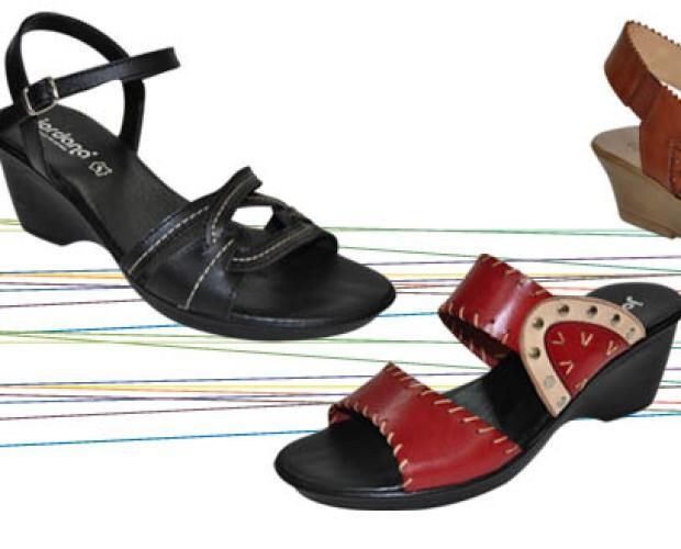 Calzado de Mujer. Sandalias Planas. sandalias con cuña