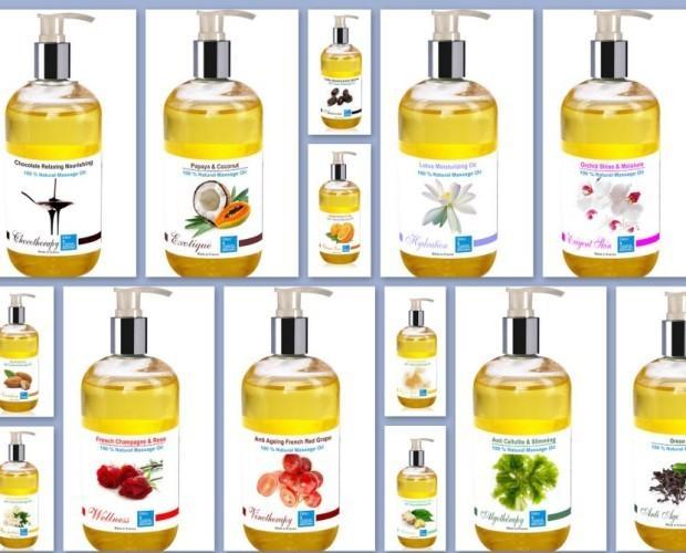 Aceites Esenciales.Aceites de masaje 100% orgánicos