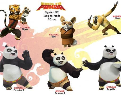 Kung Fu Panda. Figuras Kung Fu Panda