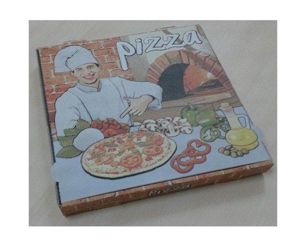 Pizza microcanal. Paquete de 100 cajas