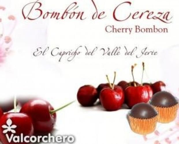 Bombones de Chocolate.Valcorchero de cereza