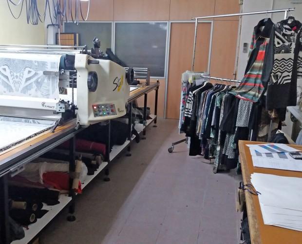 Fabricación de Ropa.Taller textil de corte y confección para terceros. Mataró Barcelona.