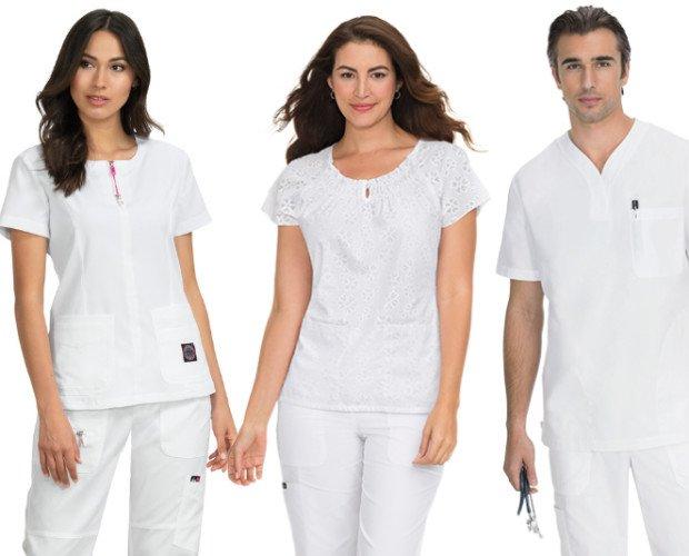 Uniformes enfermería. Vestuario sanitario elegante y duradero