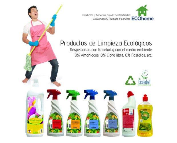 Productos de Limpieza del Hogar.Tenemos productos de limpieza 100% ecológicos, juntos cuidamos el medio ambiente