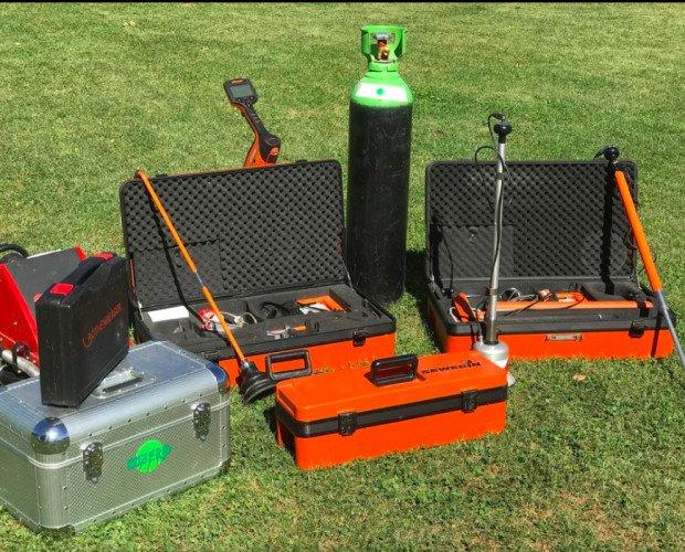 Localización de fugas de agua. Realizamos nuestros servicios con equipamiento de última tecnología