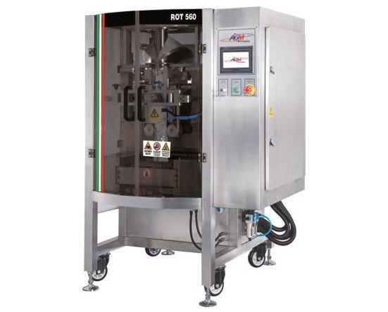 Envasadora vertical ROT 560. Ideal para frutos secos y snacks