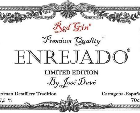 Enrejado. Red Gin Limited Edition By José Davó