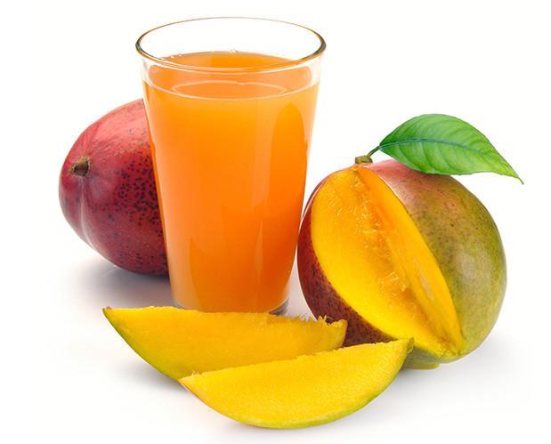 Néctares de Frutas.Néctar orgánico de mango