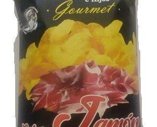 Patata Jamón ibérico. Patatas fritas gourmet sabor jamón