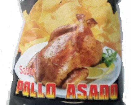 PATATAS POLLO ASADO. Patatas fritas sabor pollo asado