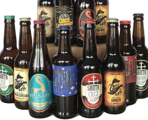Cerveza Artesanal.Doce cervezas, de varios sabores, provenientes de nuestra provincia, Alicante.