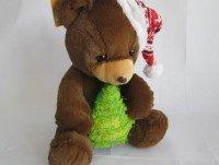 Peluche oso con árbol